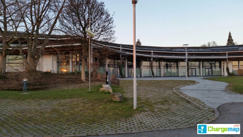 Graf Zeppelin Haus Uferseite oplaadstation in