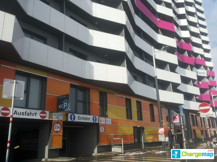Citygate parkgarage borne de charge wien for Garage mobile rennes