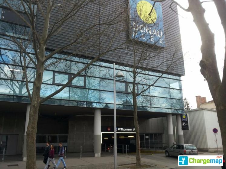 Donauzentrum Parkhaus P4 Donauplex Charging Station In Wien