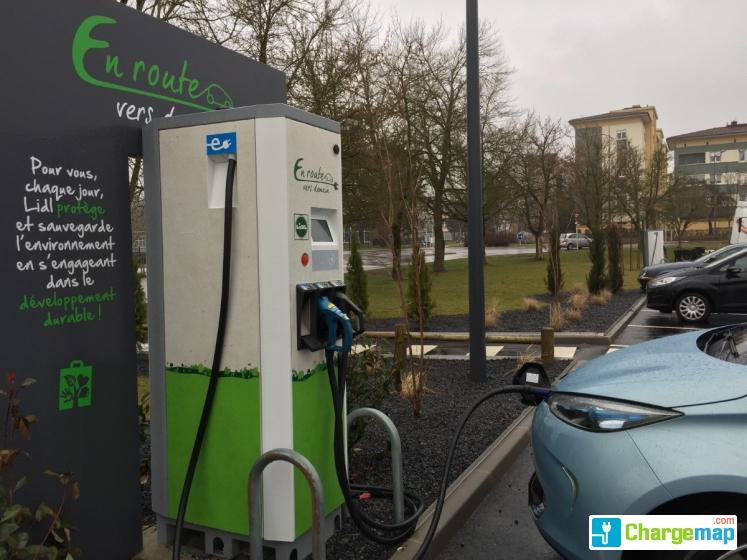 LIDL - Boulevard de l'Europe Metz : charging station in Metz