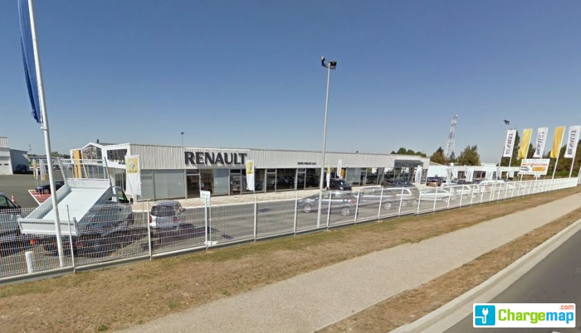 renault ch teauroux charging station in st maur. Black Bedroom Furniture Sets. Home Design Ideas