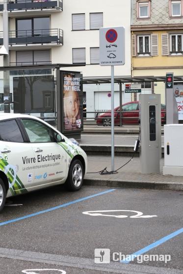 parking schluthfeld strasbourg charging station in strasbourg. Black Bedroom Furniture Sets. Home Design Ideas