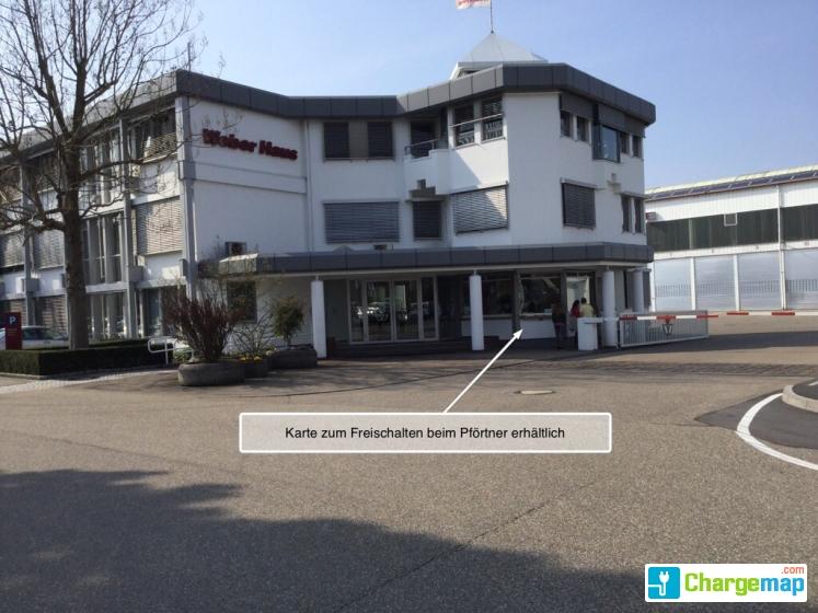 weberhaus oplaadstation in rheinau. Black Bedroom Furniture Sets. Home Design Ideas
