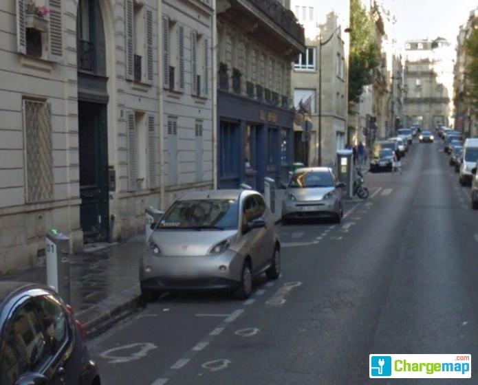 autolib 39 11 rue d 39 artois paris borne de charge paris. Black Bedroom Furniture Sets. Home Design Ideas