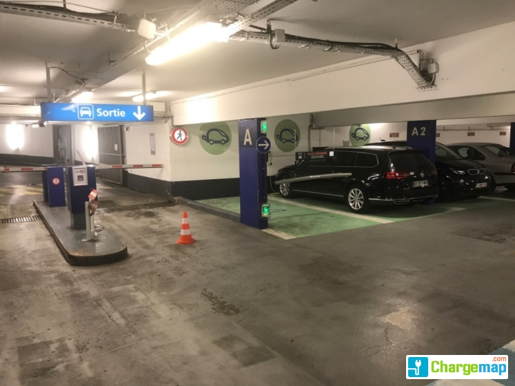 Effia Parking Republique Lille Charging Station In Lille