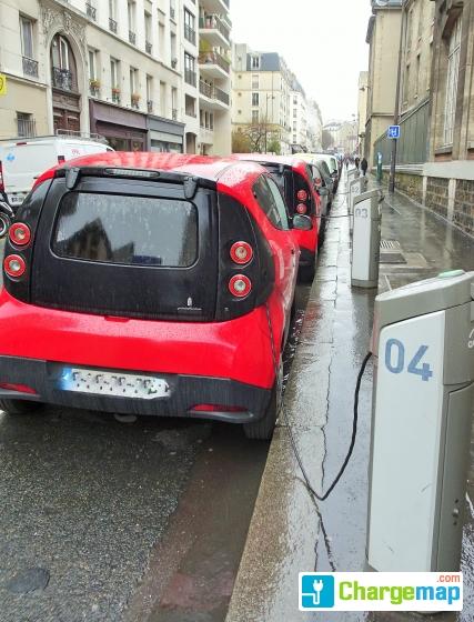 Autolib 39 11 rue de la grange aux belles paris - 13 rue de la grange aux belles 75010 paris ...
