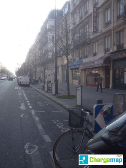 autolib 39 8 boulevard voltaire paris borne de charge paris. Black Bedroom Furniture Sets. Home Design Ideas