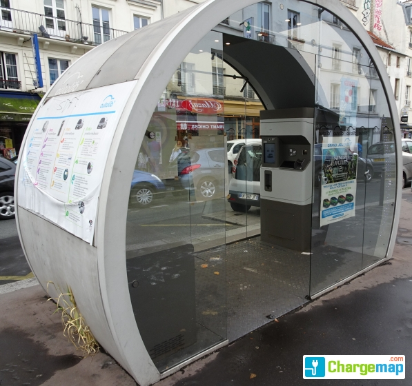 Paris recharge - 199 Rue du Faubourg Saint-Antoine Paris