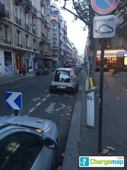Hotel Rue Ampere Paris