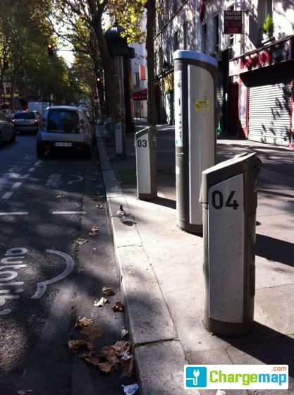 autolib 39 67 avenue de saint ouen paris borne de charge paris. Black Bedroom Furniture Sets. Home Design Ideas