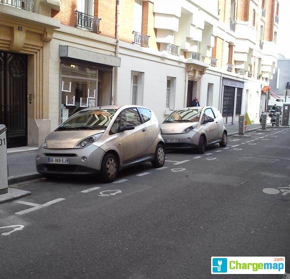 Autolib 39 11 rue henri say asni res sur seine borne de - Garage renault argenteuil rue henri barbusse ...