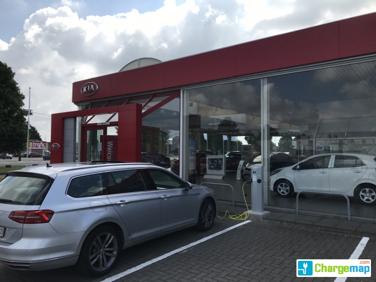 Garage kia soignies charging station in soignies for Garage kia douai