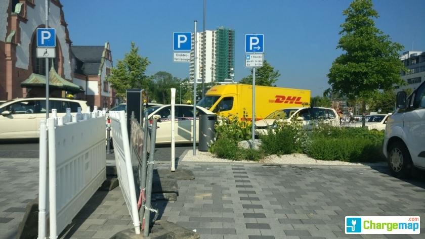 Bad Homburg Bahnhof Parken