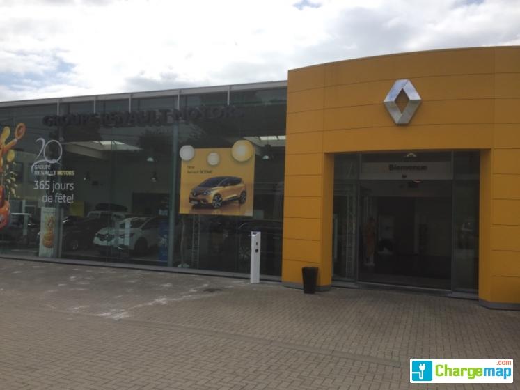 Renault motors wauthier borne de charge braine le ch teau for Garage renault severac le chateau