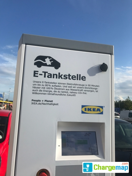 ikea berlin lichtenberg charging station in berlin. Black Bedroom Furniture Sets. Home Design Ideas