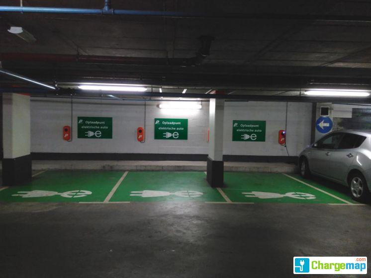 Parking Garage Kruisstraat Utrecht Oplaadstation In Utrecht