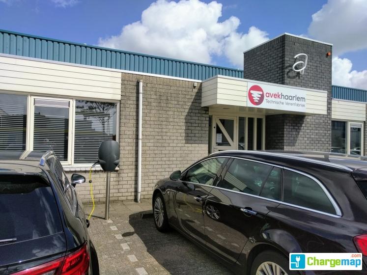 Ev Box Haarlem Emrikweg 6 Oplaadstation In Haarlem
