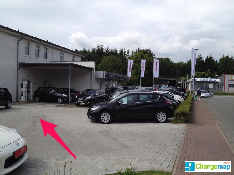 nissan autohaus hagen ladestation in neustadt in holstein. Black Bedroom Furniture Sets. Home Design Ideas