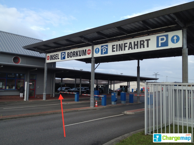 Borkum garagen charging station in emden for Garage mobile rennes