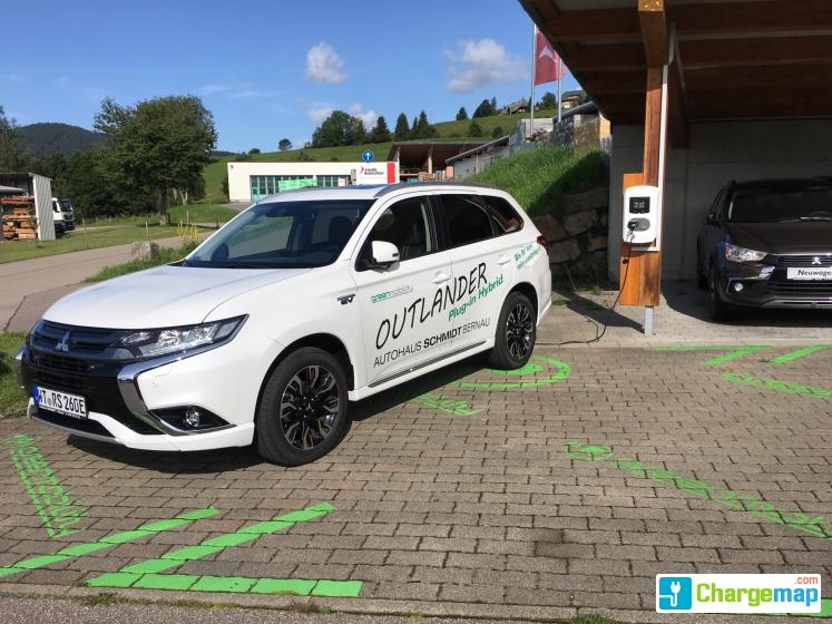 auto schmidt - bernau im schwarzwald : charging station in bernau im