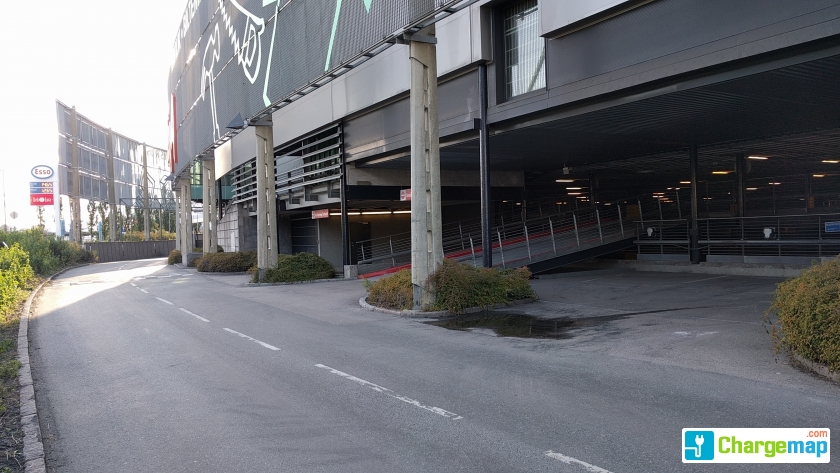 Fra mega Alna Senter, Oslo : quick charging station in OSLO CL-78