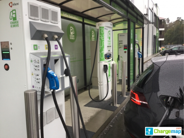 Nearest Diesel Gas Station >> Fortum Hurtigladestasjon Kiwi Gudridflaten Os Charging