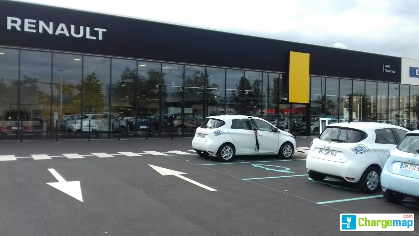 Garage renault chambray l s tours borne de charge for Garage audi chambray les tours