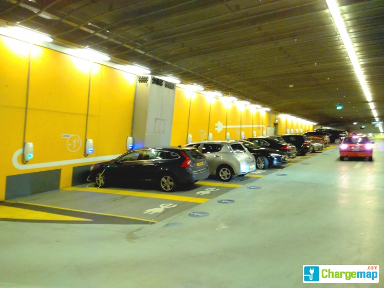 Parkeergarage Centraal 1e Willemstunnel 1 Oplaadstation In Arnhem