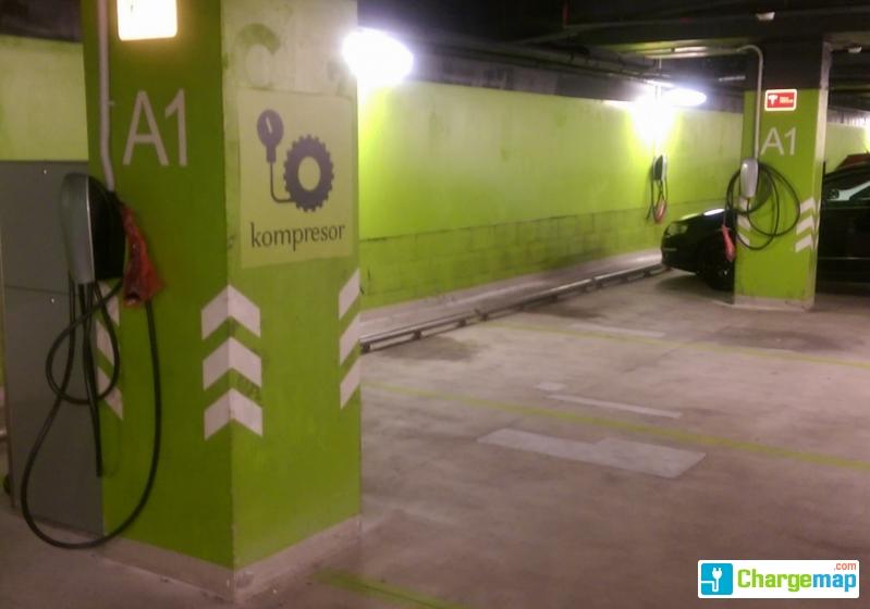 8fd192b830 Aupark shopping center   charging station in Bratislava