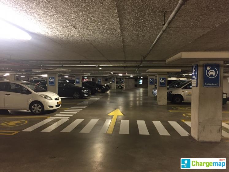 Parkeergarage Stadhuis Centrum Oplaadstation In Den Haag