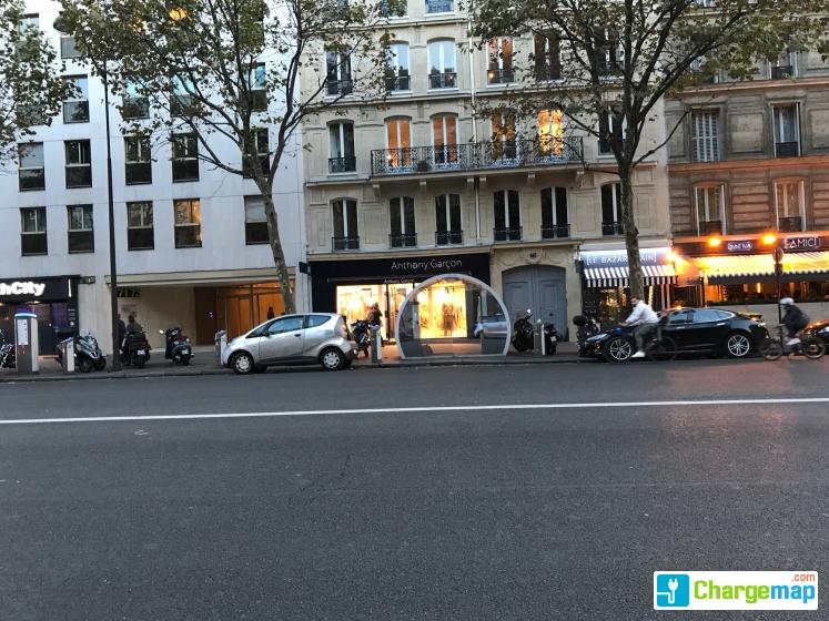 autolib 39 73 avenue des ternes paris borne de charge paris. Black Bedroom Furniture Sets. Home Design Ideas