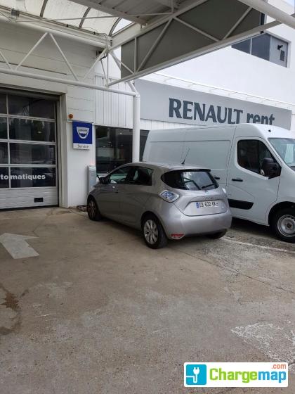 renault st germain charging station in saint germain