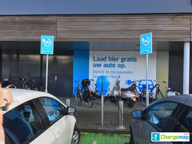 Albert Heijn Purmerend Oplaadstation In Purmerend