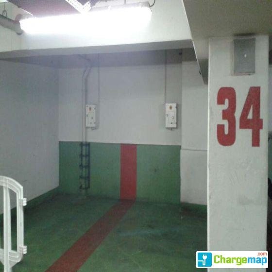 parking bercy ladestation in paris. Black Bedroom Furniture Sets. Home Design Ideas