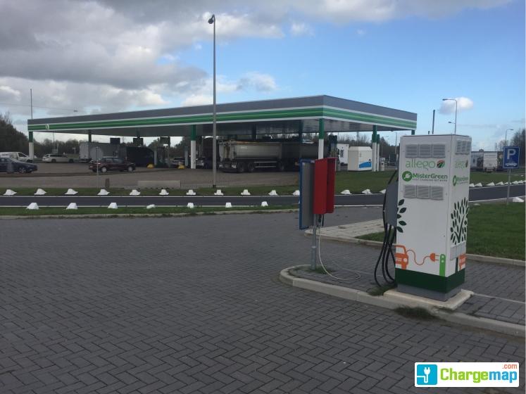 Mistergreen Allego A15 Zuid Bp Ridderkerk Snellaadstation In