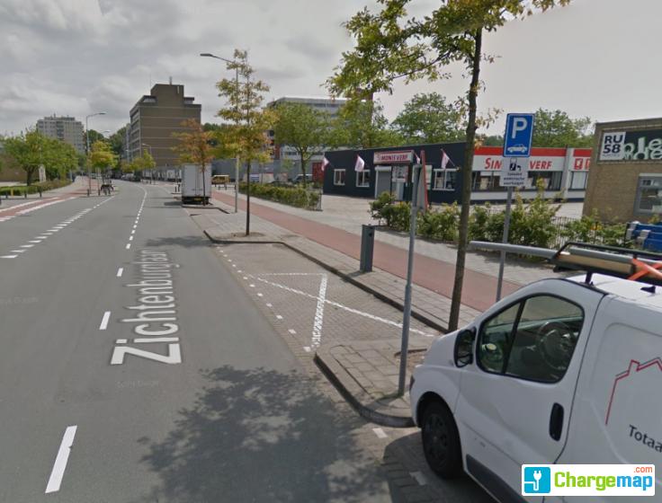 Verfwinkel Den Haag : Zichtenburglaan 15 den haag : charging station in den haag