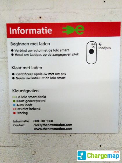 Parking P4 Utrecht Charging Station In