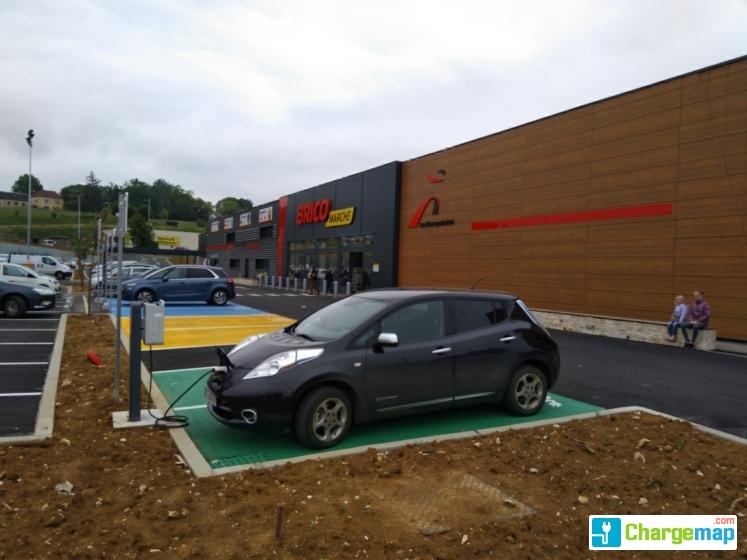 Bricomarché - Gourdon : charging station in Gourdon
