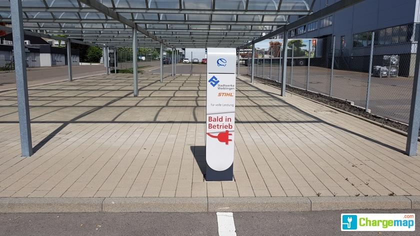4 andreas stihl stra e waiblingen charging station in - Mobel waiblingen ...