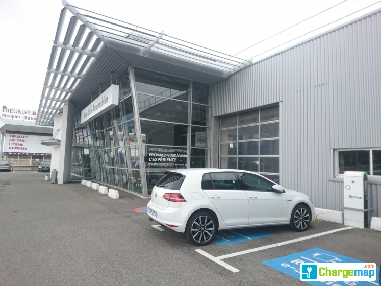 Jean lain volkswagen annemasse borne de charge annemasse for Garage mobile rennes