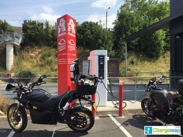 Auchan Valenciennes Charging Station In Valenciennes