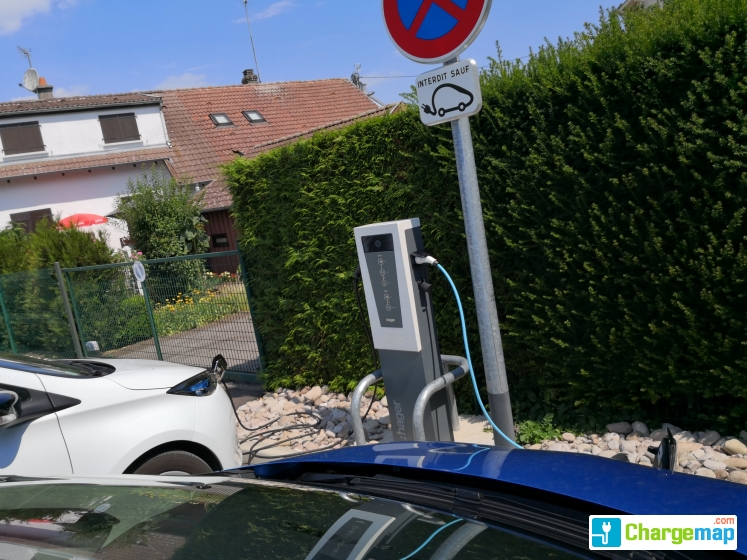 Parking mairie thaon les vosges charging station in for Garage automobile thaon les vosges