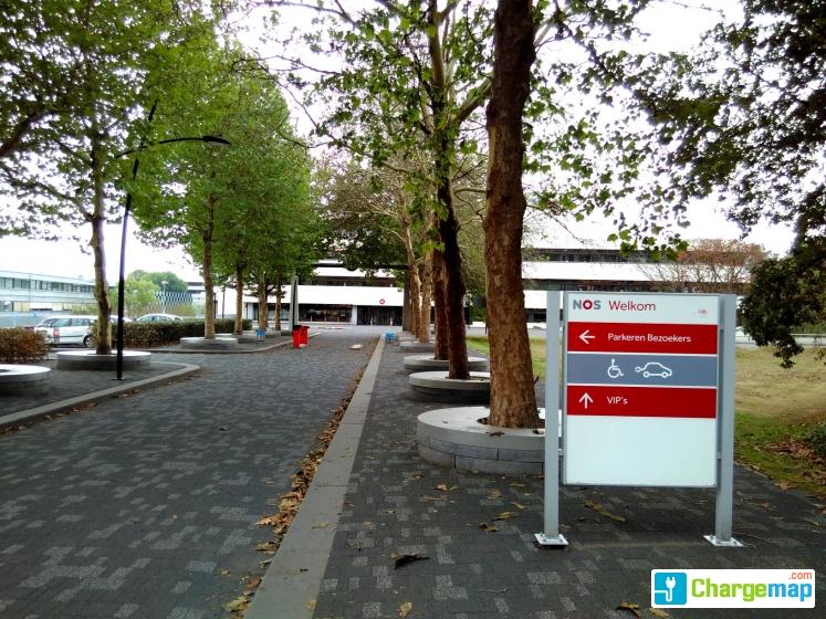 Nos Parking Media Park Hilversum Oplaadstation In Hilversum