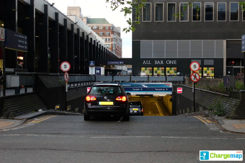 Car Parking At Euston Station