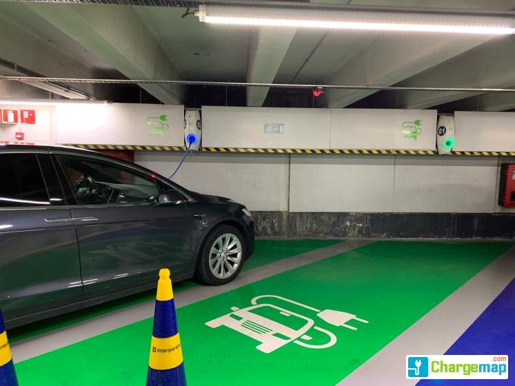 T Zand Parking Oplaadstation In Brugge