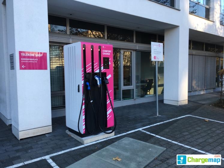 Deutsche Telekom AG - Bonn : Schnellladestation in Bonn
