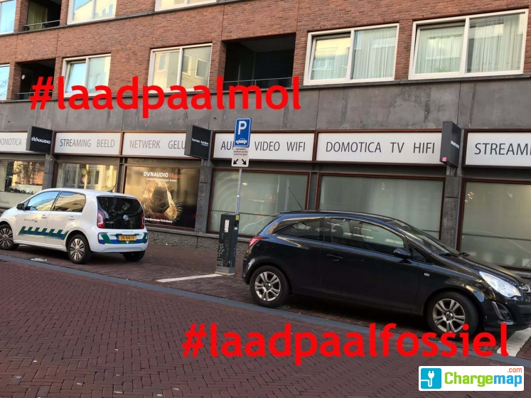 Vossenstraat 3 Allego Oplaadstation In Arnhem