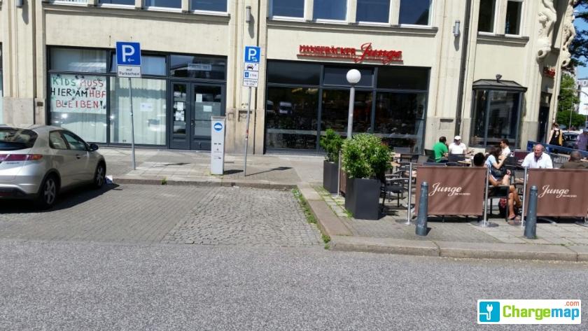 hamburg hauptbahnhof nord charging station in hamburg. Black Bedroom Furniture Sets. Home Design Ideas