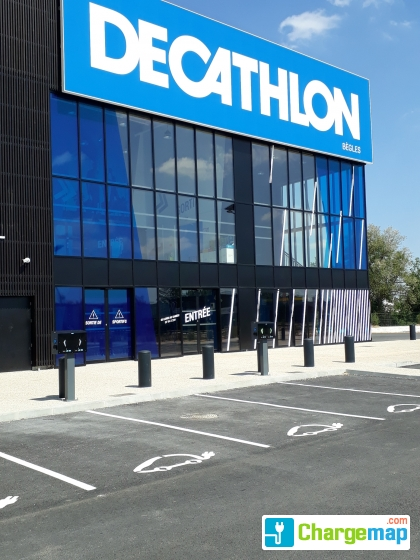 Decathlon Bègles Borne De Charge à Bègles