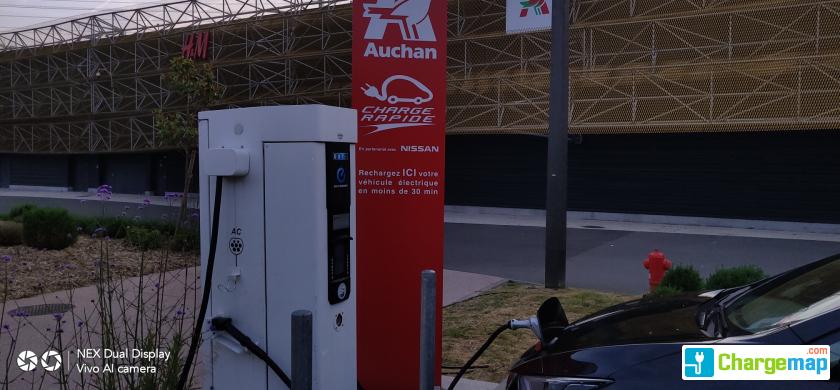 Auchan Villebon Sur Yvette Charging Station In Villebon